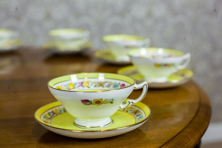 European Set of English Mintons Cups, circa 1929 For Sale