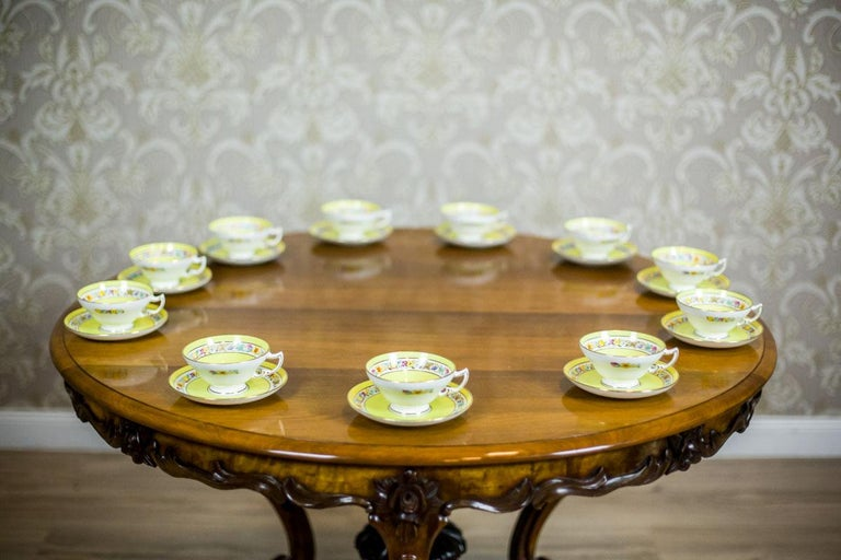 Set of English Mintons Cups, circa 1929 For Sale 1