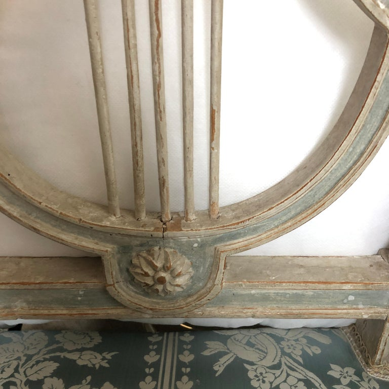Set of Original Jacob Model Chairs Lyre of Louis XVI, Late 18th Century, France For Sale 3