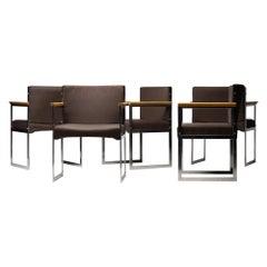 Set of Five Armchairs by Illum Wikkelsø