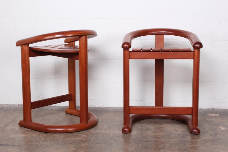 Set of Five Barstools For Sale 1