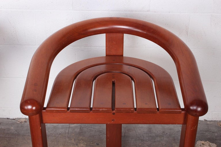 Set of Five Barstools For Sale 2