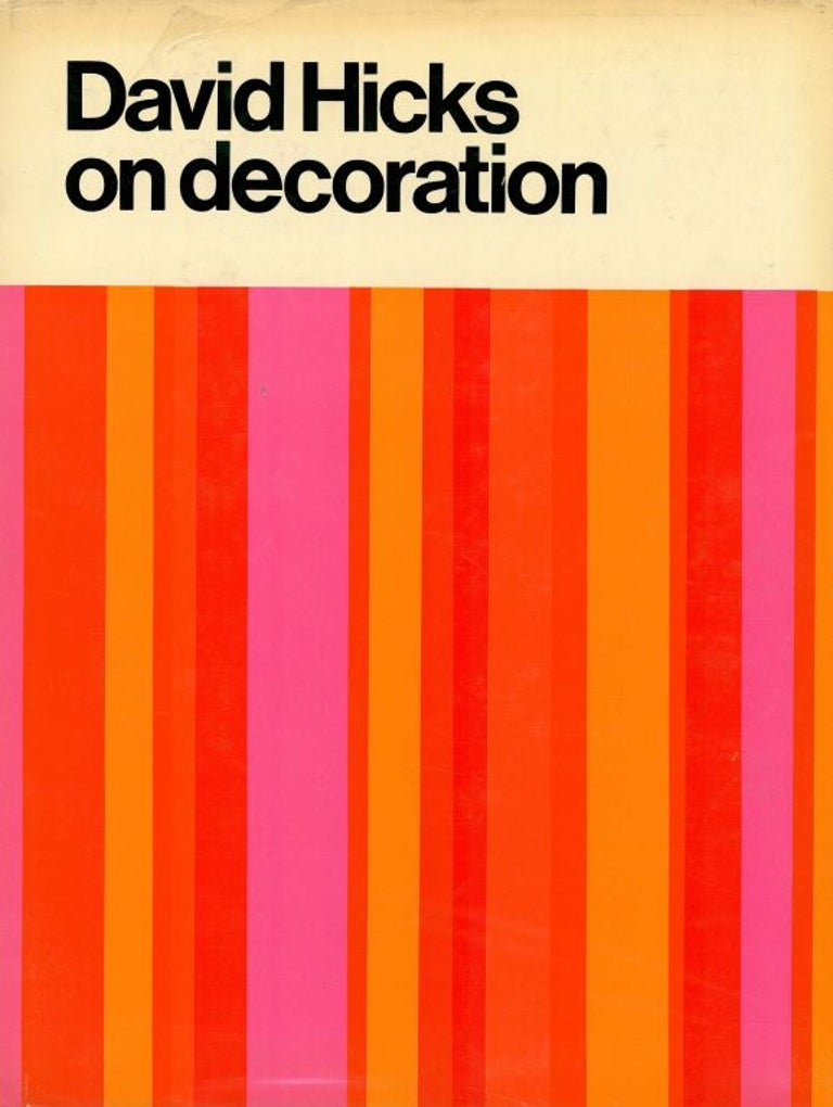 Set of Five David Hicks Design Books In Good Condition For Sale In North Yorkshire, GB