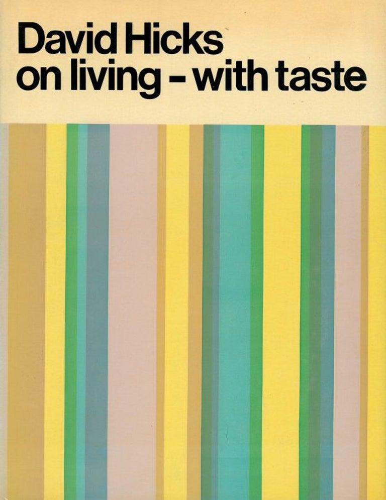 Mid-20th Century Set of Five David Hicks Design Books For Sale