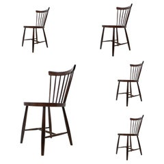 Set of Five Design Dining Chairs, 1960s