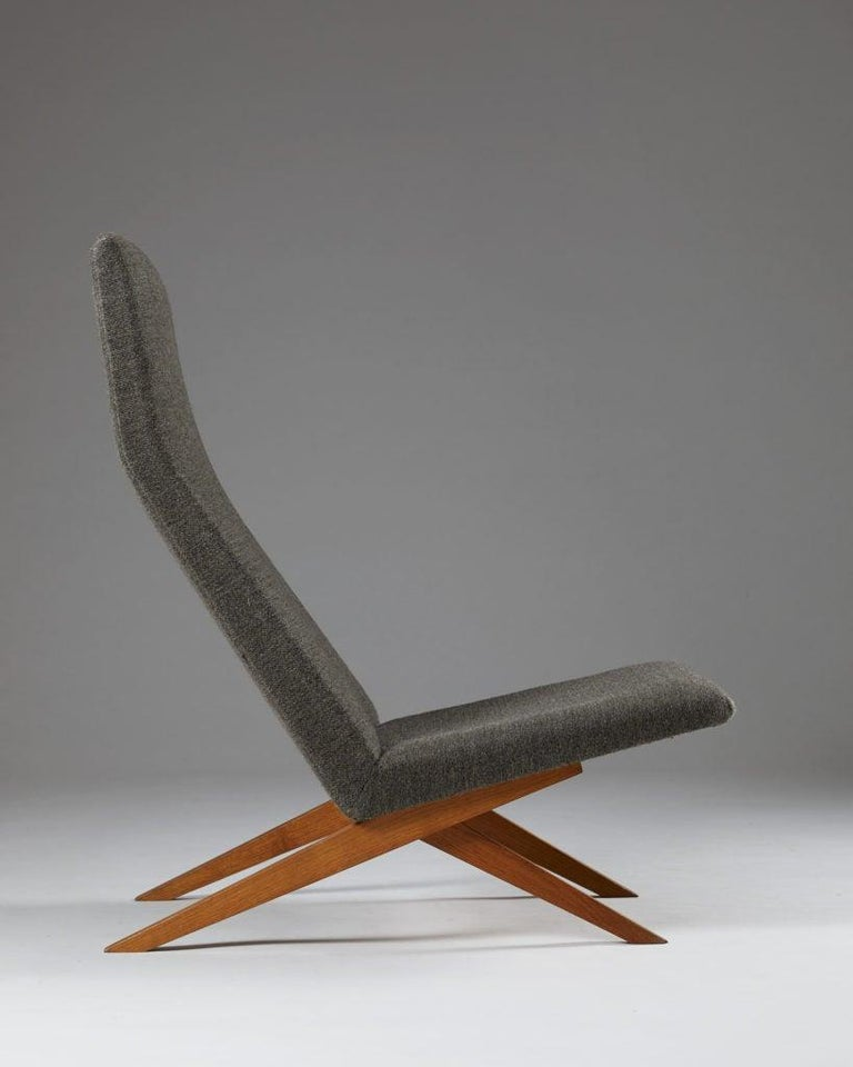 Set of Five Easy Chairs Designed by Bodil Kjaer for Harbo Sølvsten, Denmark For Sale 3