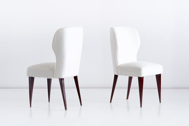 Italian Set of Five Gio Ponti Dining Chairs for Casa e Giardino, Italy, 1942 For Sale