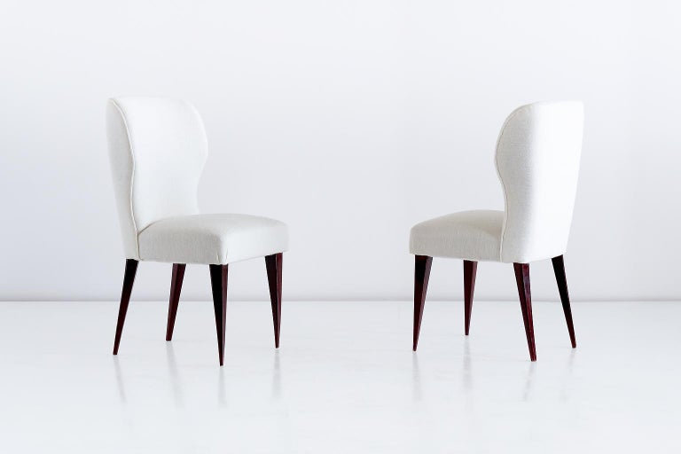 Set of Five Gio Ponti Dining Chairs for Casa e Giardino, Italy, 1942 In Good Condition For Sale In The Hague, NL