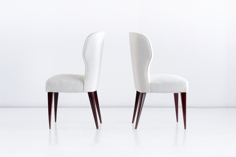 Mid-20th Century Set of Five Gio Ponti Dining Chairs for Casa e Giardino, Italy, 1942 For Sale