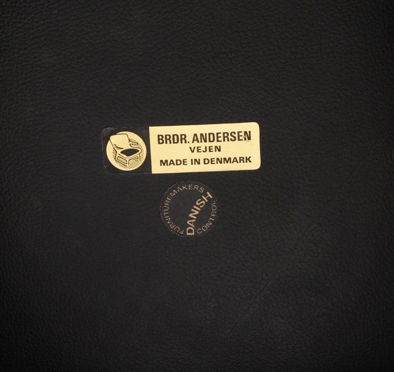Set of Five Johannes Andersen Rosewood Bar Stools, 1960s For Sale 3