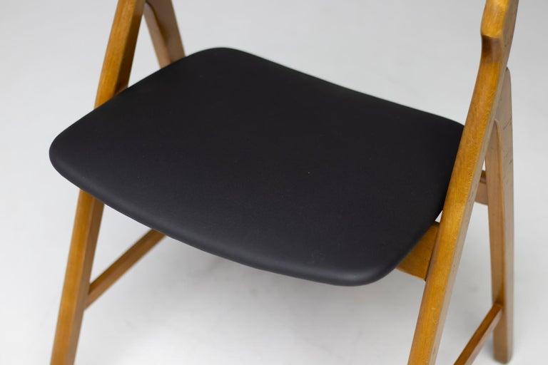 Mid-20th Century Set of Five Kai Kristiansen Teak Dining Chairs For Sale