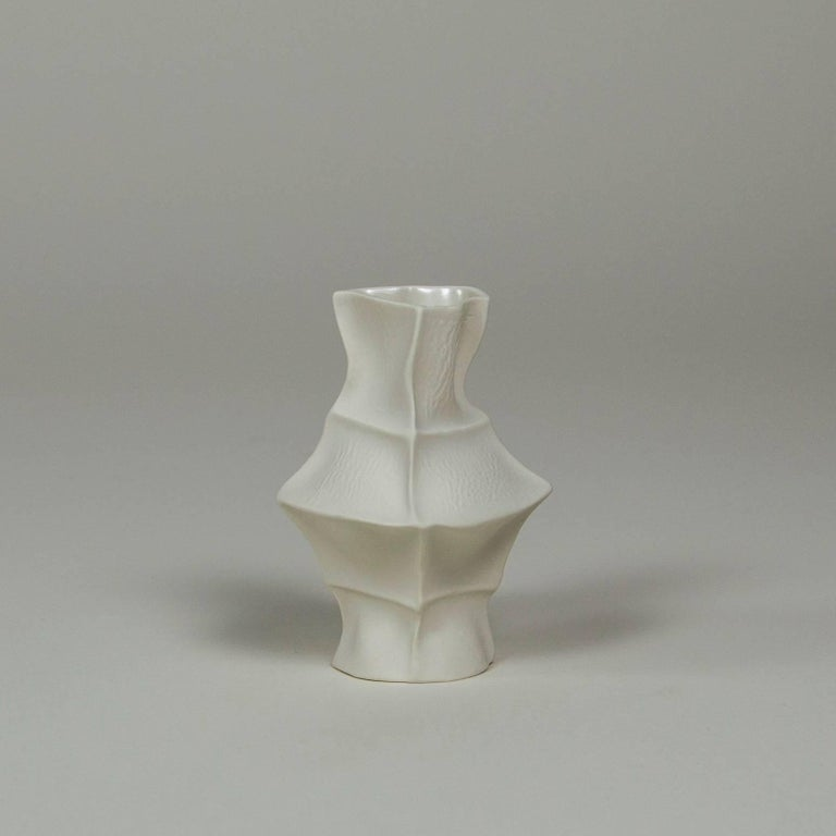 Contemporary Set of Five Kawa Vases by Luft Tanaka, in Stock For Sale