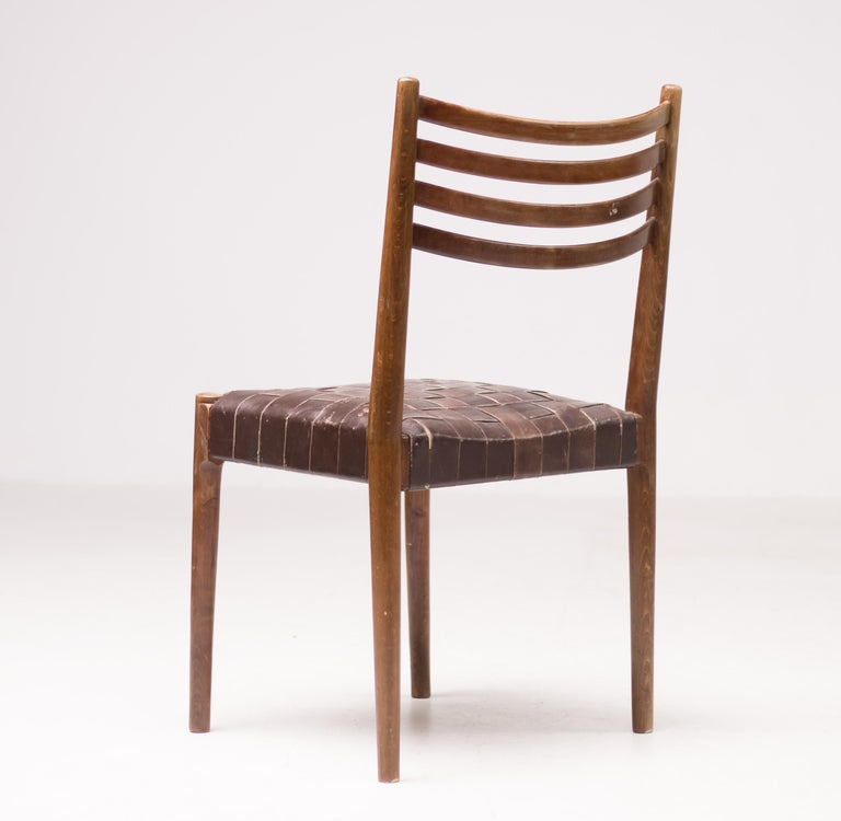 Danish Set of Five Palle Suenson Dining Chairs For Sale