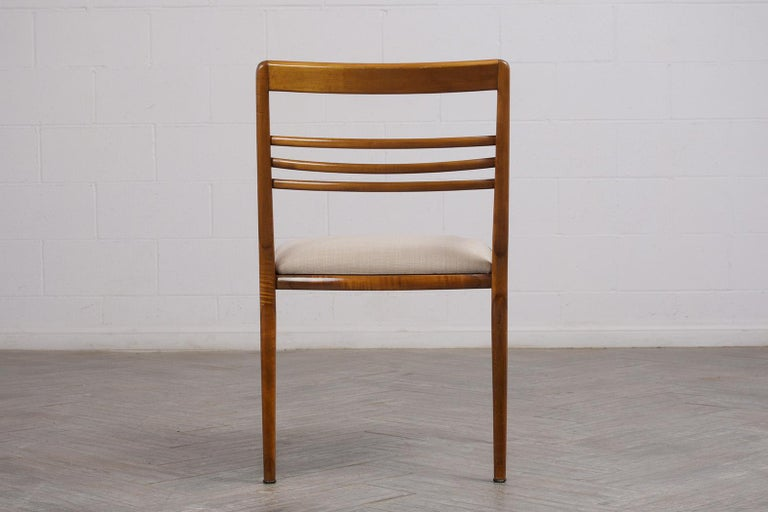 Set of Five Renzo Rutili Dining Chairs For Sale 4