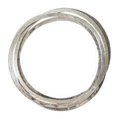 Silver Modern Bracelets