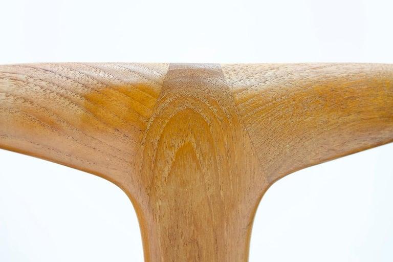 Set of Five Teak Dining Chairs Juliane by Johannes Andersen Denmark For Sale 4