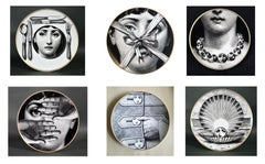 Set of Fornasetti Rosenthal - Temi e Variazioni-Themes and Variation