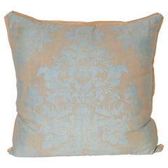 Set of Fortuny Fabric Cushions in the Dandolo Pattern