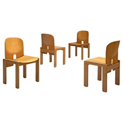 Set of Four '121' Chairs by Afra & Tobia Scarpa