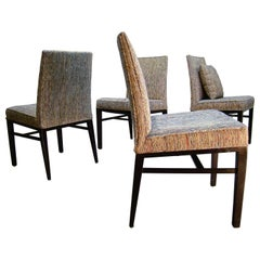 Set of Four 1950s Dunbar Parsons Style Dining Chairs by Edward Wormley, USA