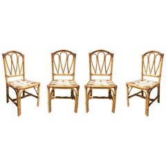 Bamboo Dining Room Chairs
