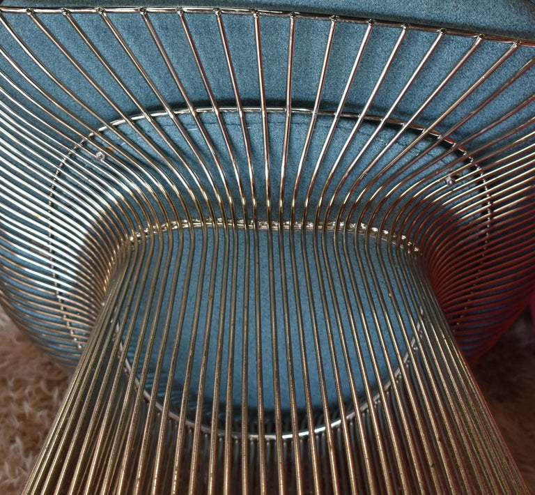 Set of Four 1970s Warren Platner Easy Armchairs for Knoll For Sale 4