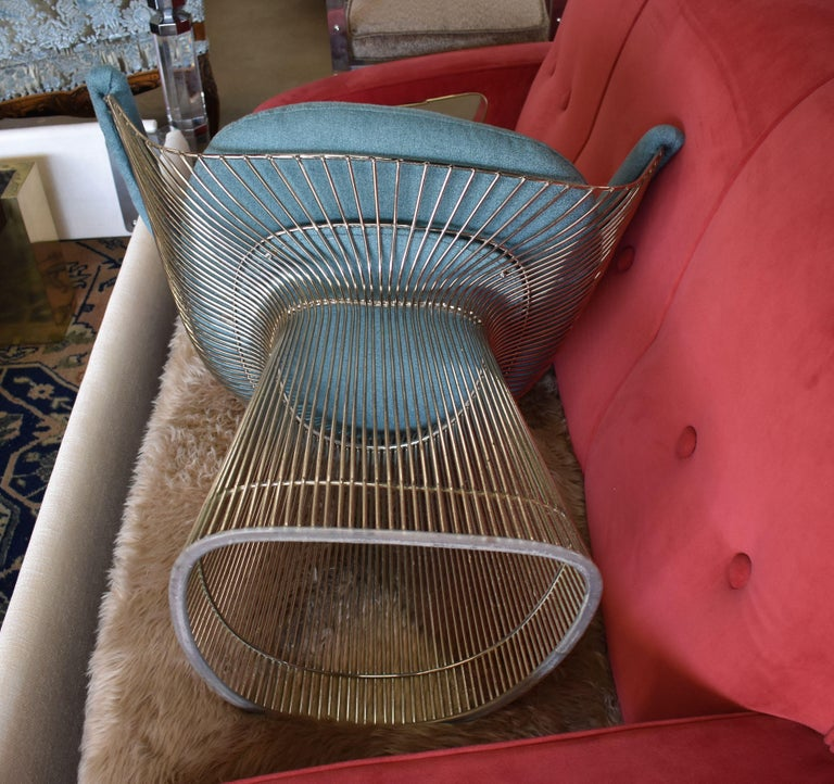 Set of Four 1970s Warren Platner Easy Armchairs for Knoll For Sale 5