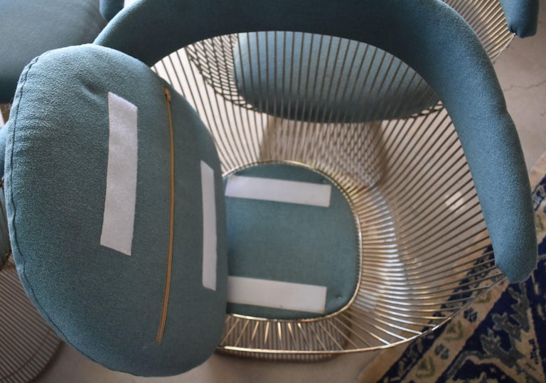 Set of Four 1970s Warren Platner Easy Armchairs for Knoll For Sale 6