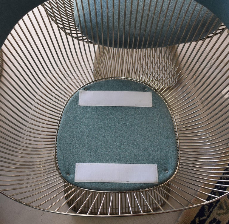 Set of Four 1970s Warren Platner Easy Armchairs for Knoll For Sale 7