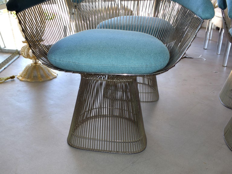 Late 20th Century Set of Four 1970s Warren Platner Easy Armchairs for Knoll For Sale