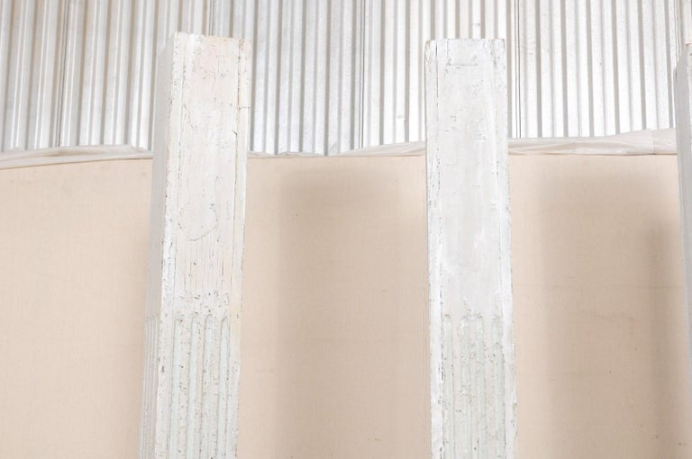 Set of Four 19th Century American Painted Columns For Sale 3