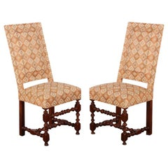 Set of Four 19th Century French Chairs from the Villa La Pausa