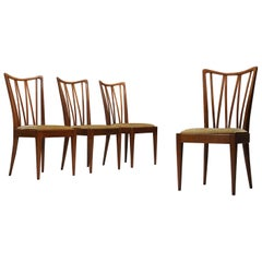 Set of Four Abraham A. Patijn Dining Chairs for Zijlstra Furniture, 1960s