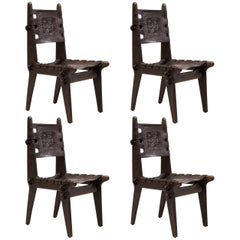 Set of Four Angel Pazmino Dining Chairs