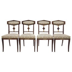 Set of Four Antique Chairs