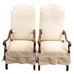 Set of Four Antique Jacobean Armchairs