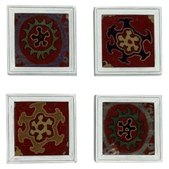 Set of Four Antique Suzani Wall Hanging