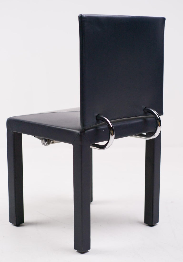 Italian Set of Four Arcadia Chairs by Paolo Piva for B&B, Italia