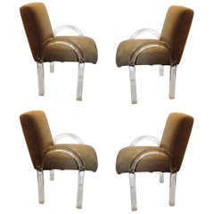 Set of Four Archline Armchairs by Charles Hollis Jones