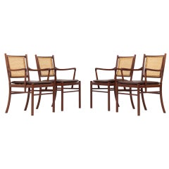 Set of Four Armchairs by Ole Wanscher