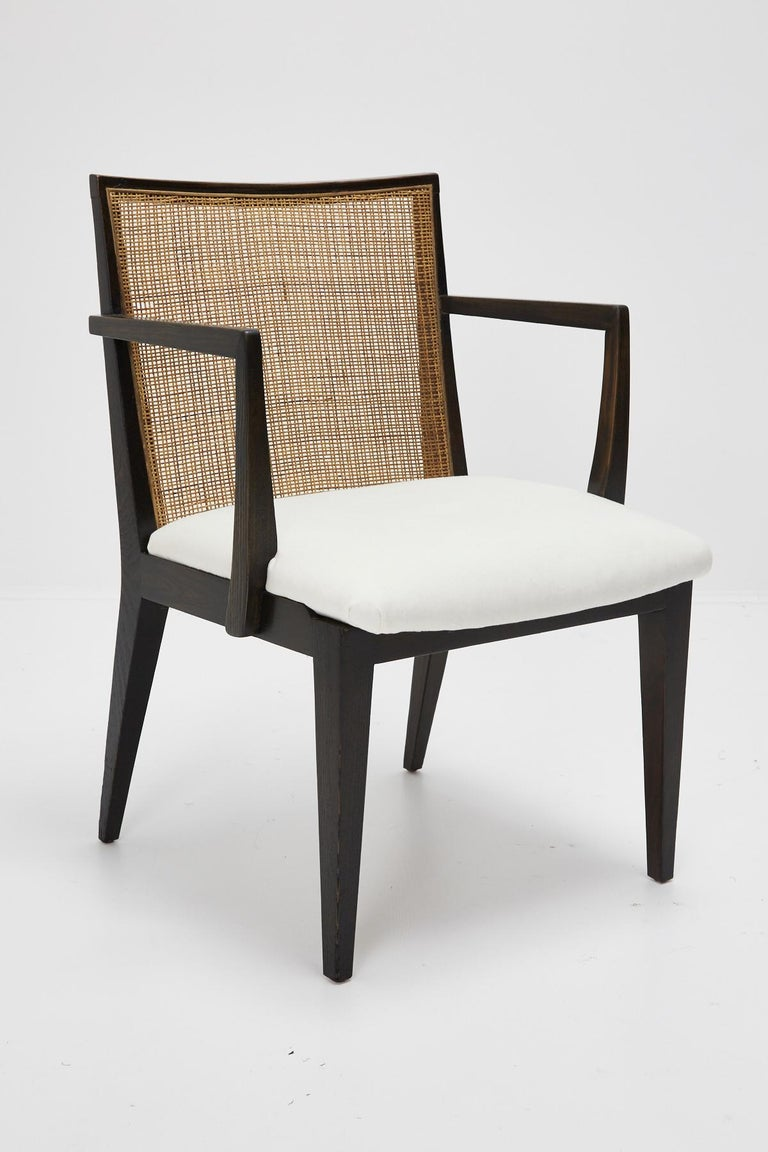 American Set of Four Armchairs by Edward Wormley for Dunbar, ca. 1959 For Sale