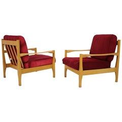 Set of Four Armchairs, Czechoslovakia, 1970s