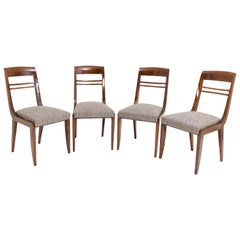 Set of Four Art Deco Chairs, Probably France, circa 1920