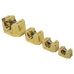 Set of Four Avoir Imperial Standard Weights