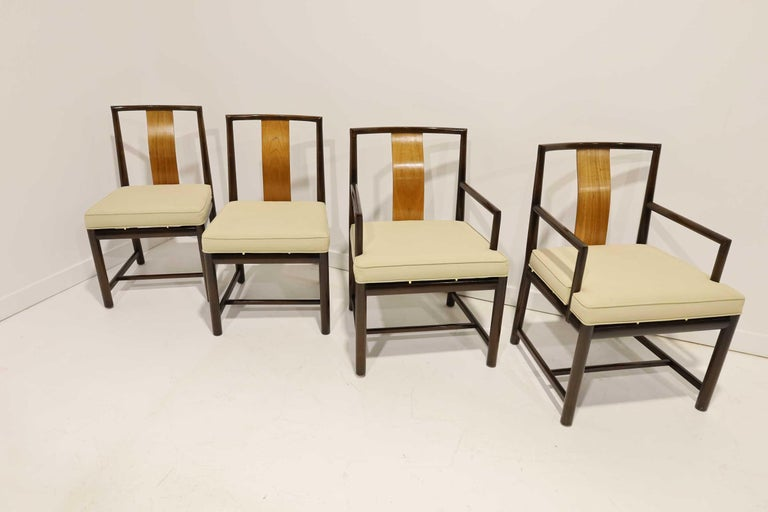 20th Century Set of Four Baker Dining Chairs For Sale