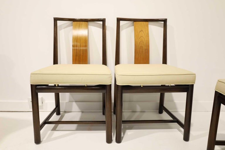 Set of Four Baker Dining Chairs For Sale 1