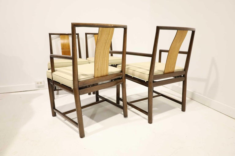Set of Four Baker Dining Chairs For Sale 2