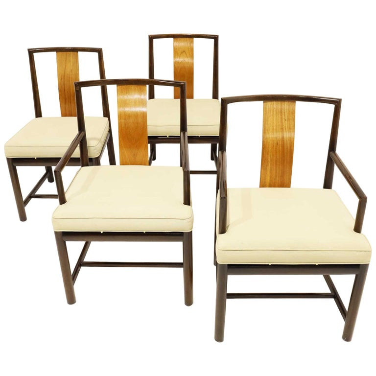 Set of Four Baker Dining Chairs For Sale