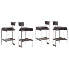 Set of Four Bar Stools by Powell & Bonnell