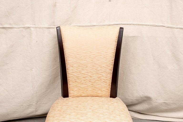 Set Of Four Barbara Barry For Baker Furniture Upholstered